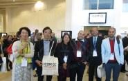 صورة جماعة لفريق المرممين المصريين وفريق المرممين اليابانيين