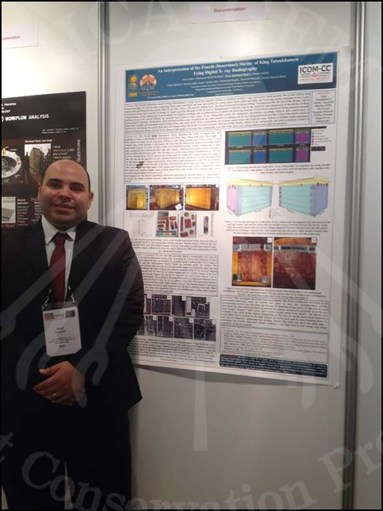 A photo of Mr Noor along with his research