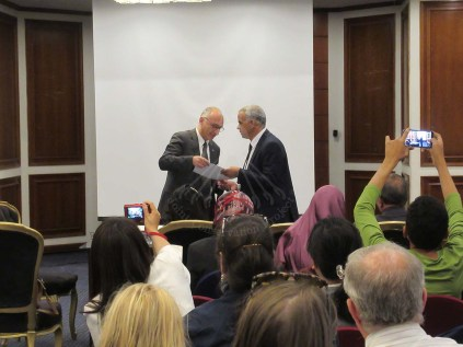 Dr Tawfik and Mr Eissa