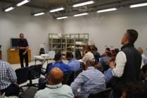 د/ حسين كمال يلقى مقدمة حول أعمال الترميم بامركز ترميم المتحف المصري الكبير