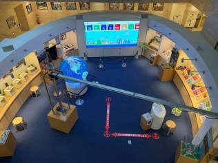 Visitors can experience and learn about global issues