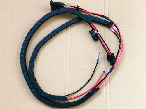 small resolution of nylon braided wire harness cable chain assembly