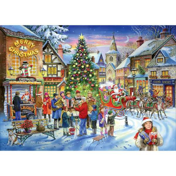 Christmas Shopping  1000 Piece Jigsaw Puzzle from Jigsaw Puzzles Direct  Order today and Get
