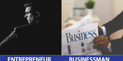 Differences between Entrepreneur and Business Person