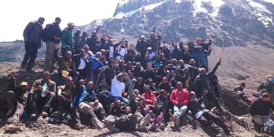 GGM Kilimanjaro climb against HIV/AIDS