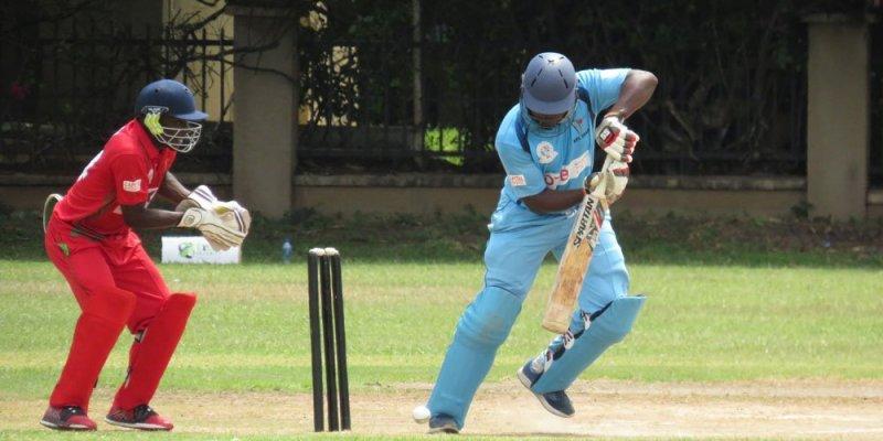 Cricket players in Dar es Salaam