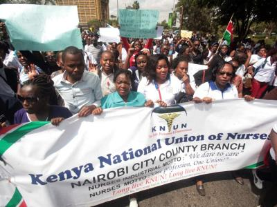 Operations remain paralysed in Kenya public hospitals