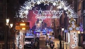 "France: Strasbourg on lockdown, 4 dead, manhunt for terrorist on ""security threat"" list, grenade found in his home"