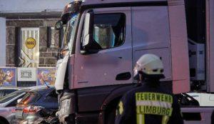 """Germany: Muslim truck driver screaming """"Allah"""" deliberat... <a target="""