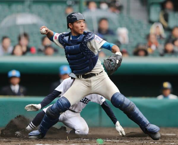若月健矢(花咲徳栄)捕手 高校日本代表。…:2013年ドラフト候補 寫真特集:時事ドットコム
