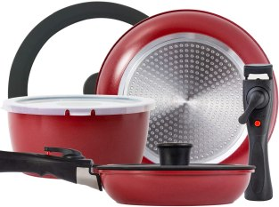 Rockurwok nonstick cookware set for induction cooktops