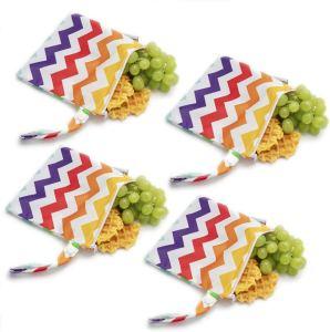 Fabric snack storage bag