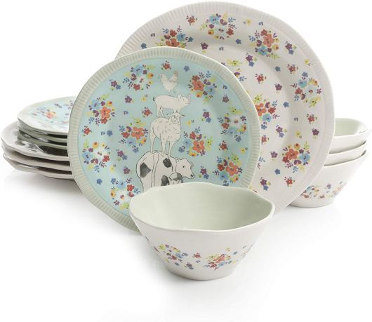 Decorative Urban Dinnerware Sets by Gibson