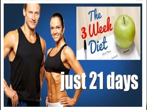 3 Weeks diet weight loss program