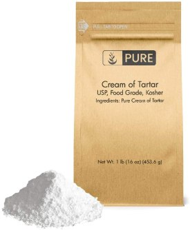 Cream of tartar best cleaning Powder for Stainless steel cookware