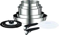13 Pan set stainless steel Tefal ingenio cookware set