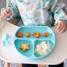 Bumkins divided suction baby plate