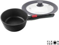 Cleverona saucepan with detachable handle