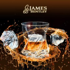 James Bentley Brand of Lead Free Drinking glassware