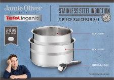 Tefal ingenio stainless steel Jamie Oliver cookware set