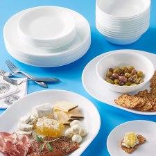 Corelle Winter Frost Dinnerware Set - 38 Piece