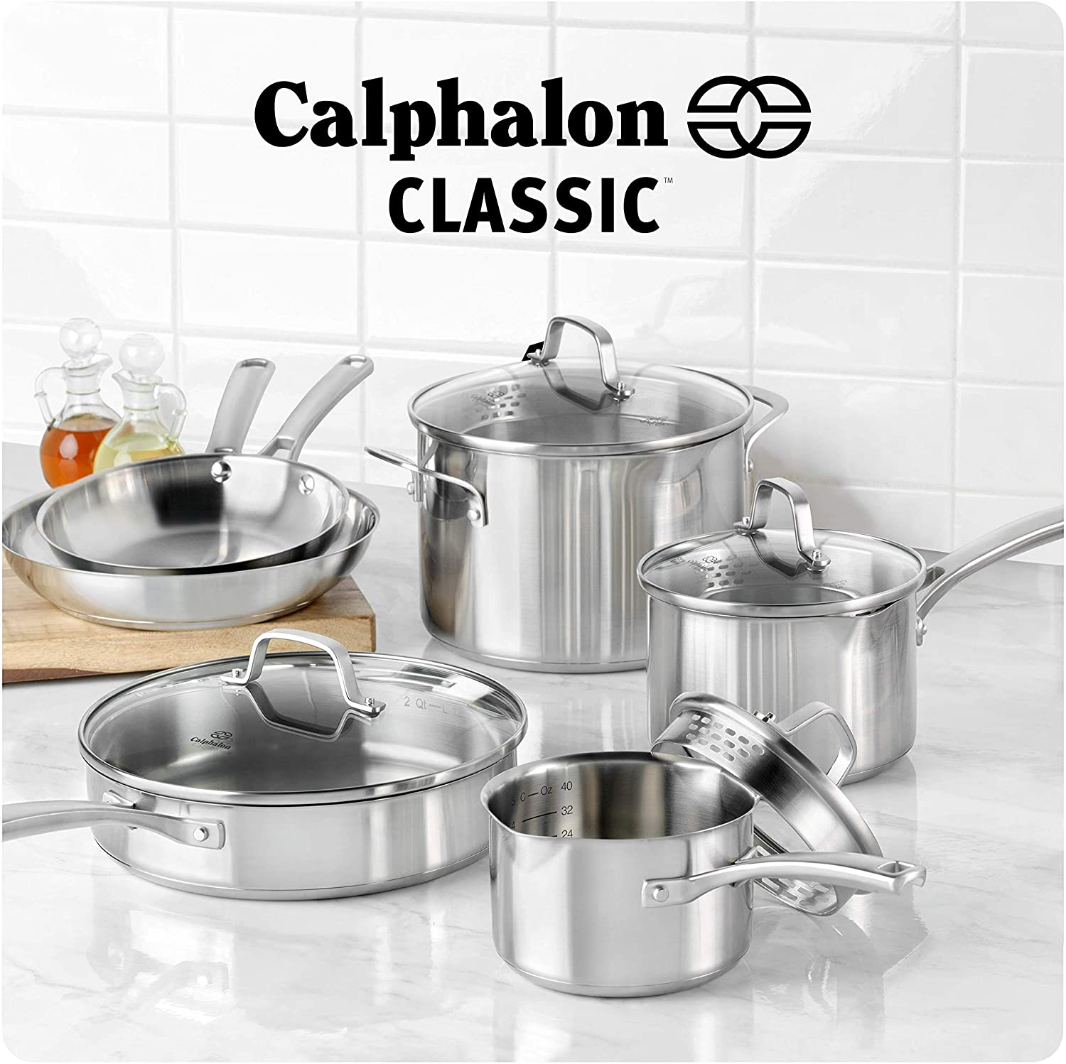 Calphalon pots and pans - best cookware for electric coil stove 2020