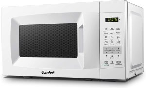 Tiny house Comfee Countertop Microwave Oven