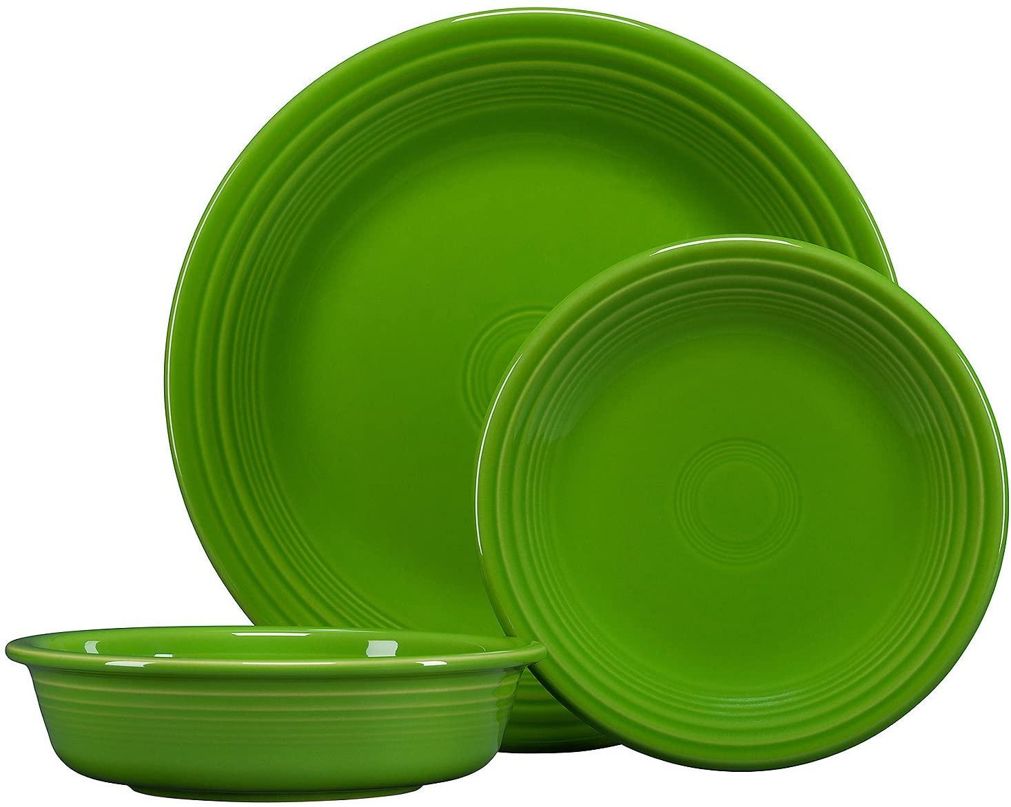 Fiestaware classic dinnerware set Shamrock