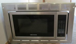 Greystone Built in small microwave oven for Rv