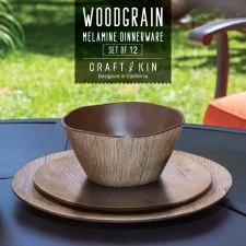 Melamine non-toxic dinnerware set