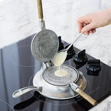 Nordic ware Norwegian waffle maker for gas stove