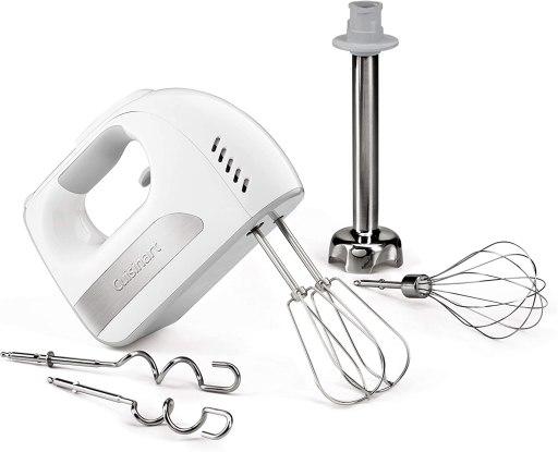 8 Speed Cuisinart hand mixer with blending attachment