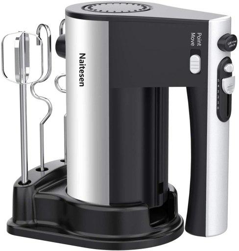 Naitesen Electric 10 speed hand mixer for all baking recipe