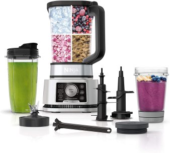 Ninja foodi food processor and blender for ice cream, smoothies, chopping and dough.