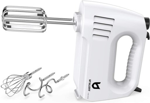 Best electric whisk - Utalent Electric hand mixer with beaters and dough hooks