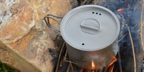 Can you use a regular Pan over a Fire