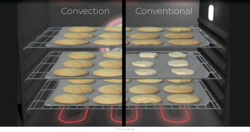 fan or conventional oven for baking bread