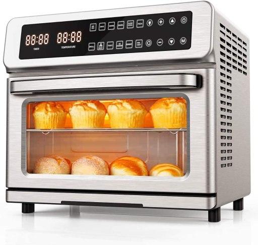 Countertop convection oven for baking bread