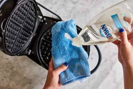 How to clean an old waffle iron