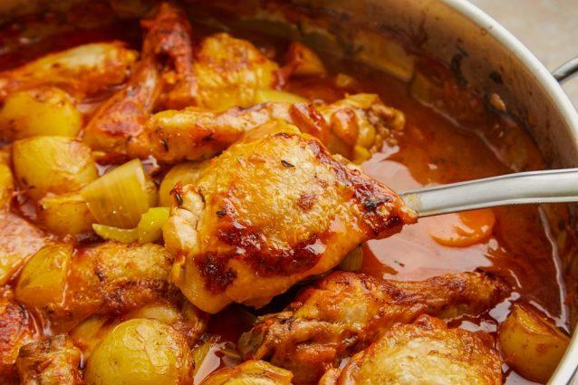 Nigeria chicken stew