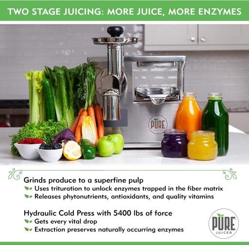 HOW DO JUICERS WORK 2 Hydraulic Masticating Juicer Machine