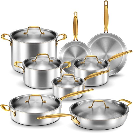 Best Legend stainless steel pots and pans