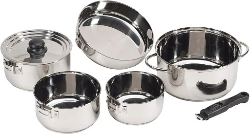 Best lightweight pots and pans for RV