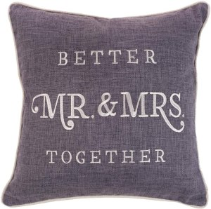 throw pillow useful wedding gift for new couples
