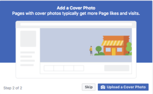 Add your cover photo - create one in Canva