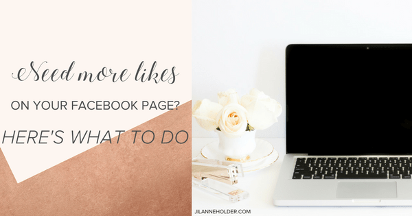 Want more likes on your facebook page