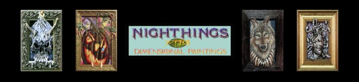 Jill Bauman — Art of the Mysterious & Fantastic — Nighthings