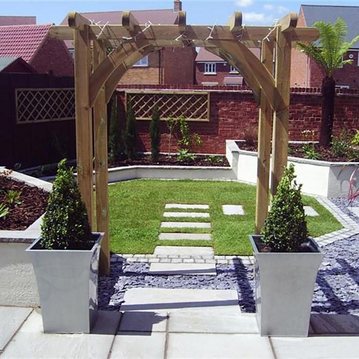 Small Town Garden Design Marlborough, Wiltshire