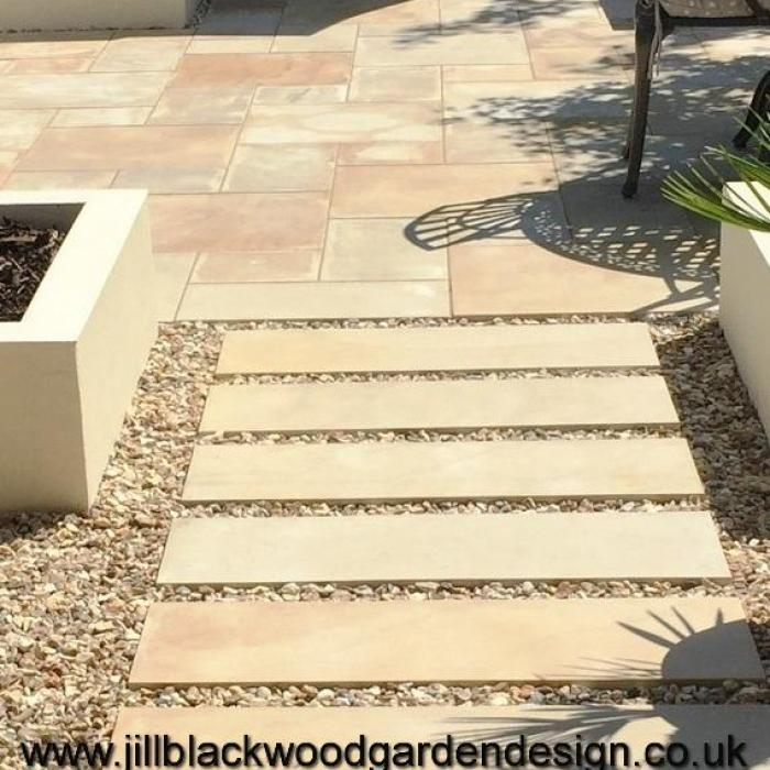 Contemporary Courtyard Garden Design Cirencester, Gloucestershire