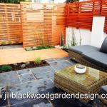 Contemporary small garden